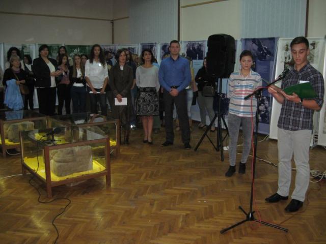 """S izložbe """"Ana Frank – istorija za sadašnjost"""" Foto: Dnevnik.rs"""