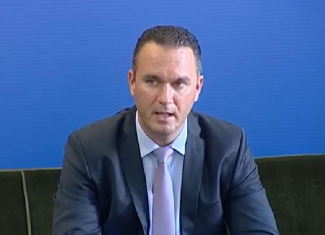 Pokrajinski sekretar Ognjen Bijelić Foto: Dnevnik.rs