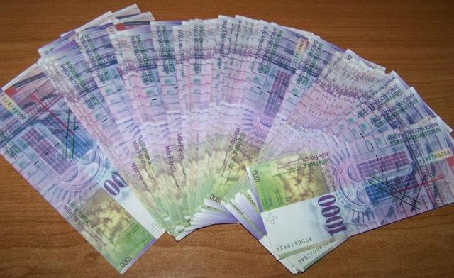 Zaplenjeni franci Foto: Uprava carina
