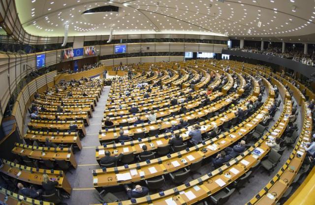 Evropski parlament  Foto: EPA/OLIVIER HOSLET