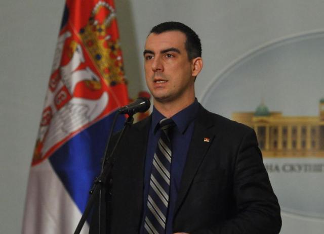 Zamenik šefa poslaničke grupe SNS-a Vladimir Orlić Foto: Tanjug