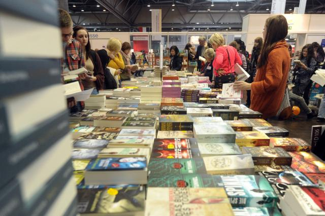 sajam knjiga, ilustracija