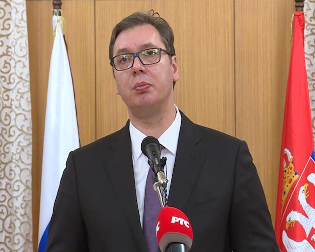 Predsednik Srbije Aleksandar Vučić Foto: Tanjug