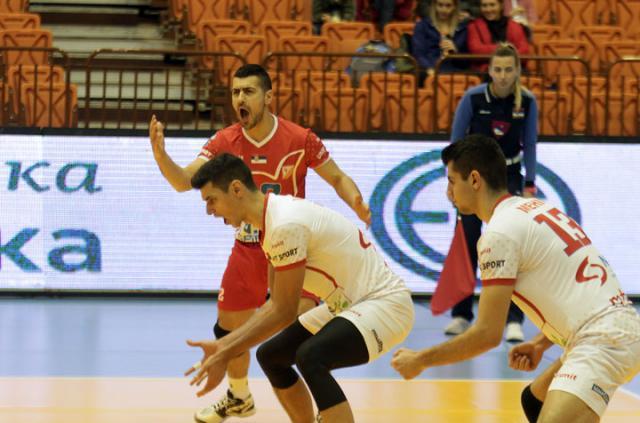 Nikola Peković, Miloš Vemić i David Mehić/F. Bakić