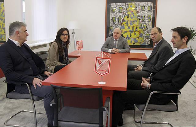 Dragoljub Zbiljić (u sredini) preuzeće čelnu funkciju u klubu