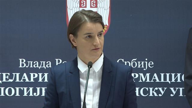 Premijerka Ana Brnabić Foto: Tanjug