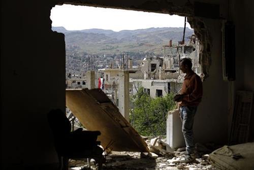 Idlib Foto: AP Photo/Hassan Ammar