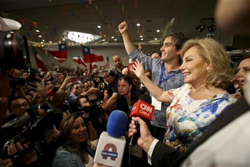 Čile, izbori Foto: AP Photo/Esteban Felix