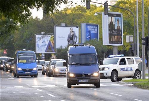 Crnogorska policija  Foto: Tanjug/video