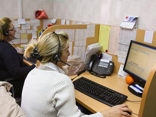 """Kol centar deo jedinstvenog informaciono-komunikacioni sistem DZ """"Novi Sad"""" Foto: F. Bakić"""