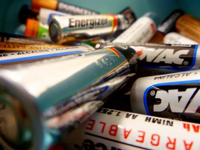 baterije, ilustracija