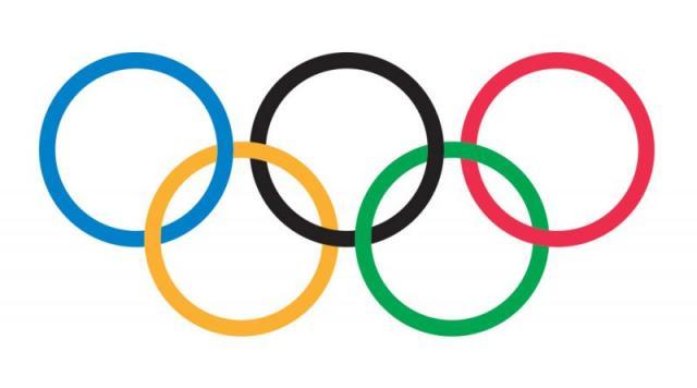 olimpijski krugovi, ilustracija