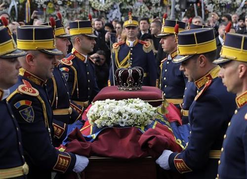 sahrana rumunskog kralja, tanjug ap