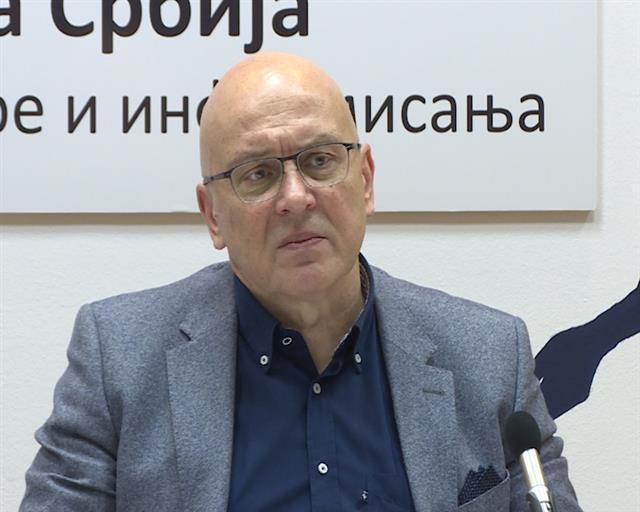 Ministar kulture i informisanja Vladan Vukosavljević  foto: Tanjug/video