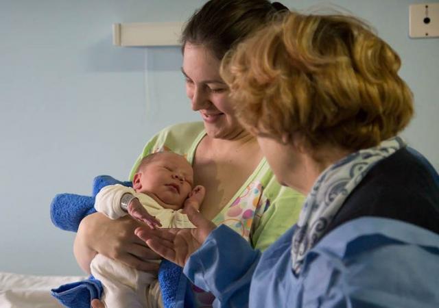 Vukan prvorođena beba u Kikindi Foto: Grad Kikinda