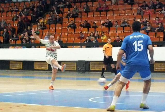 D. Ivanić/Sa utakmice Dnevnikovog turnira