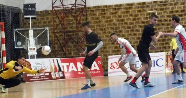 D. Ivanić/Golman Robne kuće Panda Milenko Ristić branio izvanredno