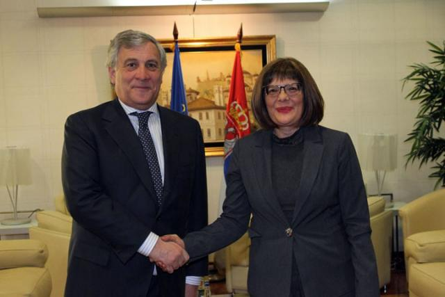 Tajani i Gojkovic/Fonet