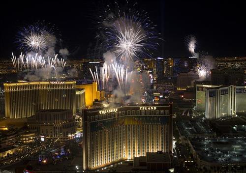 Nova godina u Las Vegasu Foto: AP Photo