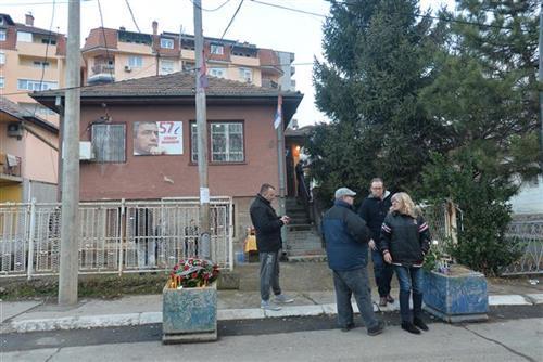 Kuća ispred koje je ubijen Oliver Ivanović  Foto:Tanjug/Z. Žestić