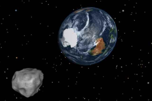 Asteroid Foto: NASA