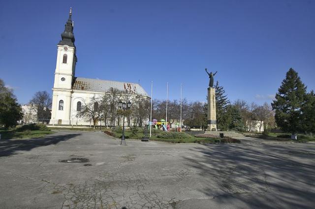 Srbobran, centar Foto: Dnevnik.rs/F. Bakić