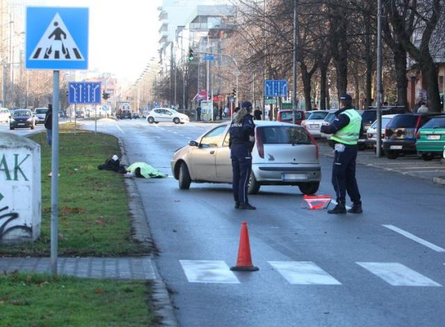 Žena poginula na pešačkom prelazu u Novom Sadu Foto: Dnevnik.rs