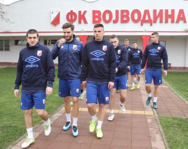Igrači FK Vojvodina pred početak priprema foto: Dnevnik.rs/R. Hadžić