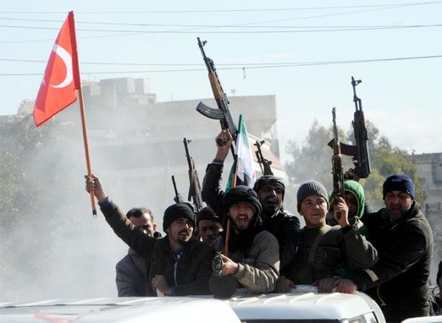 Turska vojska/EPA/HASAN KIRMIZITAS