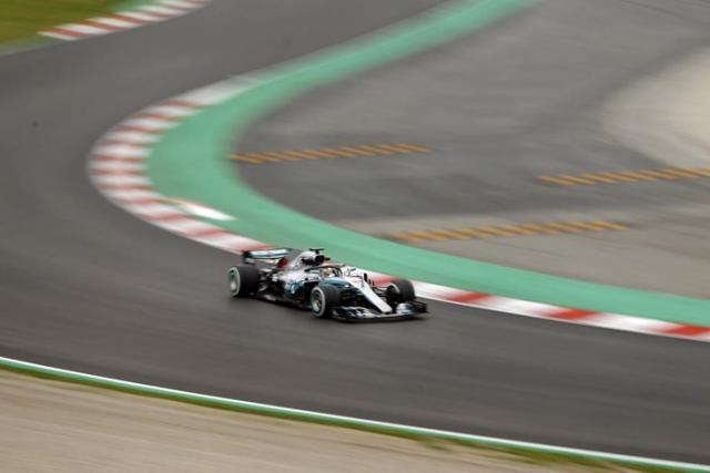 Trening F1 u Katalunji, Luis Hamilton/Fonet