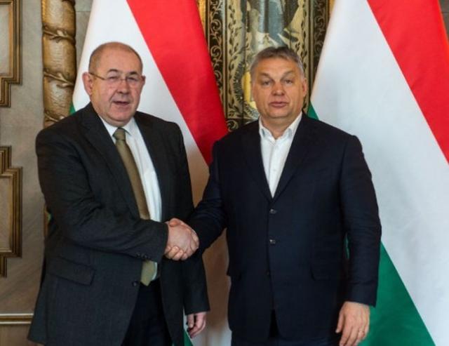 Ištvan Pastor  i Viktor Orban Foto: Vlada Mađarske