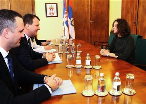 Igor Mirović sastao se danas sa ambasadorkom Izraela u Srbiji Alonom Fišer Kam  Foto: Pokrajinska Vlada