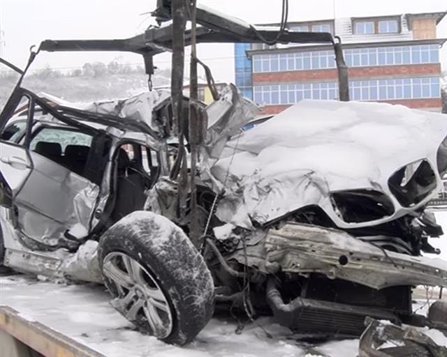 Saobraćajna nezgoda kod Novog Pazara Foto: Tanjug