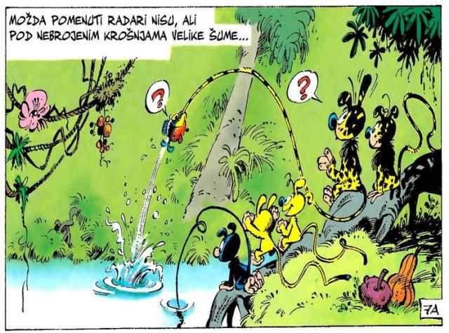 Iz stripa Marsupilami  Belgijanca Andrea Frankena Foto: Dnevnik.rs/ilustracija