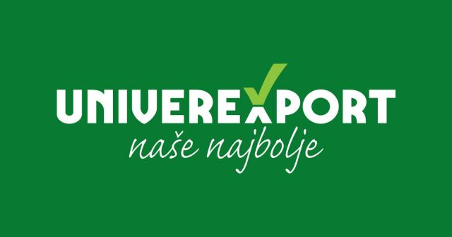 univerexport logo, Ilustracija