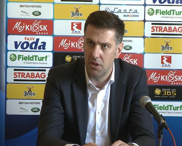 Selektor fudbalske reprezentacije Srbije Mladen Krstajić foto: Tanjug