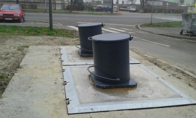Podzemni kontejneri za smeće  Foto: Dnevnik.rs/arhiva