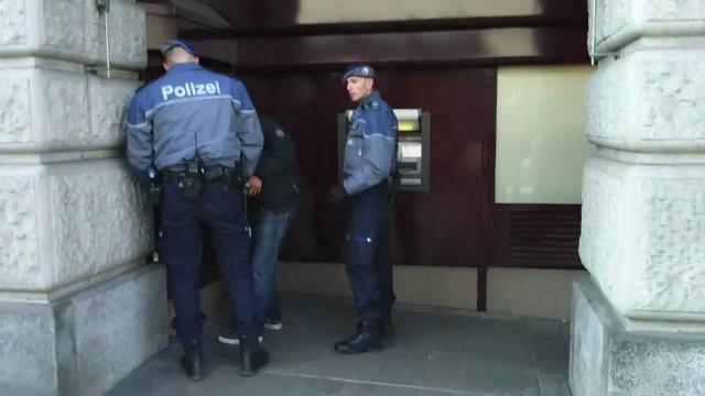 Švajcarska policija foto: Youtube/printscreen