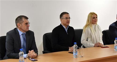 Stefanović u Mionici Foto: Tanjug