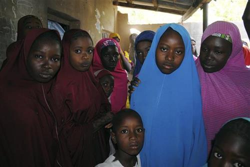 Učenice koje je zarobio Boko Haram Foto: AP Photo/Jossy Ol
