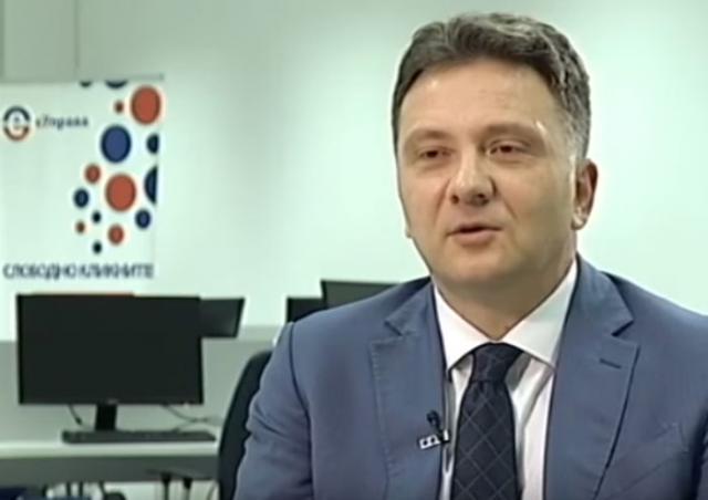 Direktor kancelarije za IT upravu Vlade Srbije Mihailo Jovanović Foto: rts/skrinšot