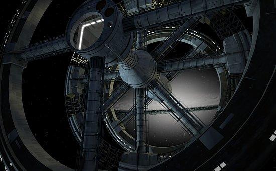 svemirska stnica pixabay