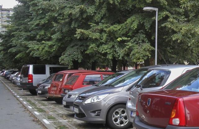 Parkiranje, parkinzi, Novi Sad Foto: Dnevnik.rs