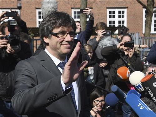 Pudždemon izašao iz nemačkog zatvora Foto: Carsten Rehder /dpa via AP