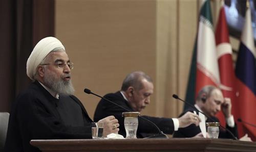Hasan Rohani i Redžep Tajip Erdogan  Foto: AP Photo/Burhan Ozbilici