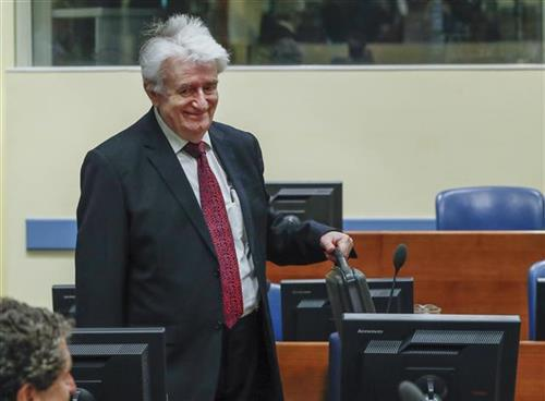 Radovan Karadžić Foto: Yves Herman, pool photo via AP