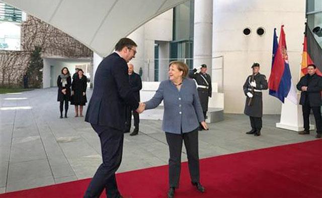 Merkel-Vucic/Tanjug