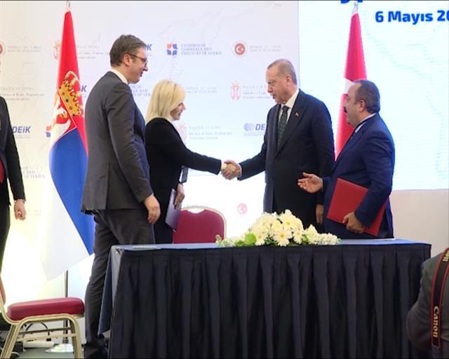 """Potpisan Memorandum o saradnji s turskom kompanijom """"Tassjapi""""  Foto: Tanjug/video"""