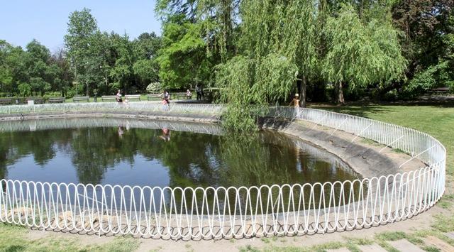 dunavski park ograda