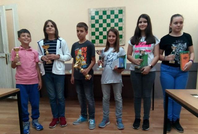Nagrađeni na turniru: Andrej Ljepić, Milan Gagić, Lav Pajčin, Anja Jovanović, Mia Mićin i Ana Tepić